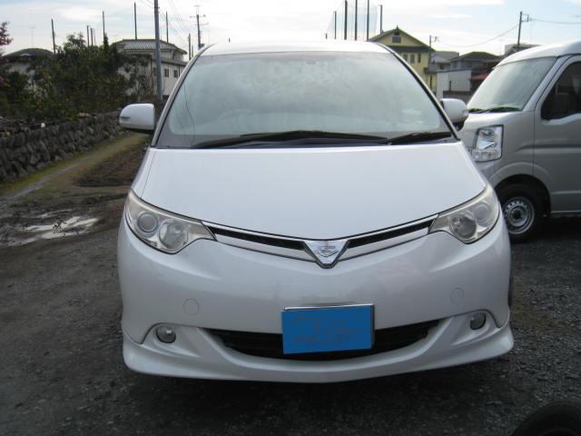 トヨタ エスティマ G 地デジナビHDD サイドリフトアップシート装着車