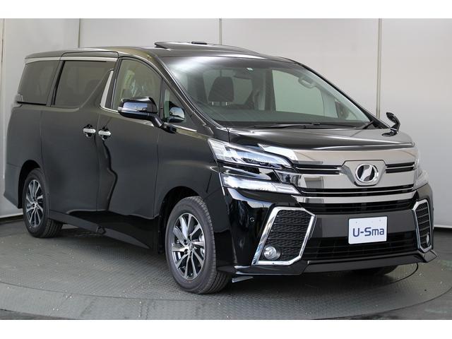 大人気30ヴェルファイアのエアログレード「2.5Z」の新車を特別価格で販売!