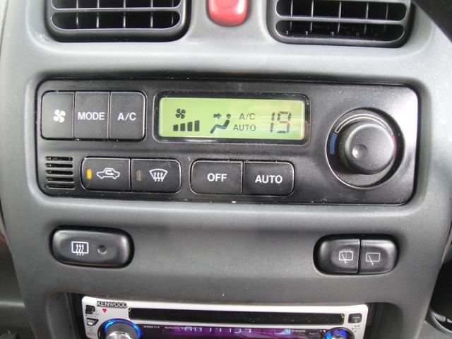 快適装備!!フルオートエアコン!!温度設定をするだけで風量・風向を自動で調節してくれます!!