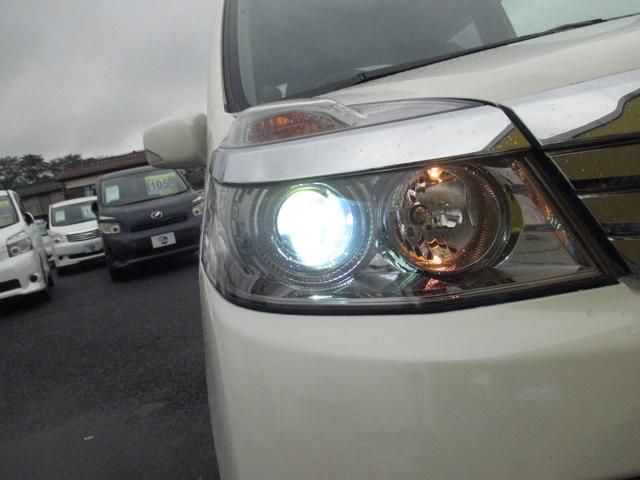 HIDライトだから夜のドライブも安全快適!