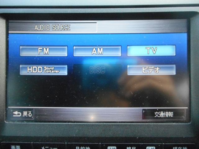 ホンダ ストリーム RSZ HDDナビパッケージ TV バックモニター HID