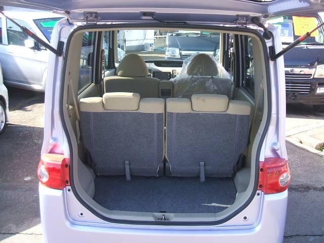 開口部が広く、荷物が積み込み易い設計になっております!日常生活には十分な広さです!
