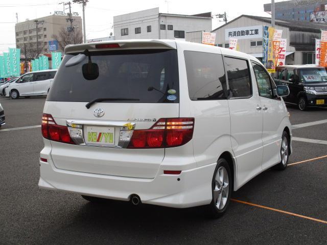トヨタ アルファードV AS 後期型 HDDナビドア 両側電動 コーナーセンサー