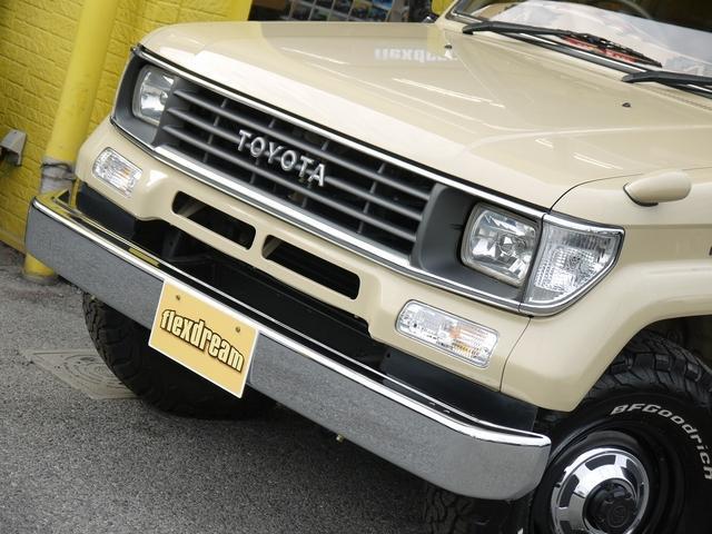 トヨタ ランドクルーザープラド SX クラシックコンプリート ナローボディ メッキグリル