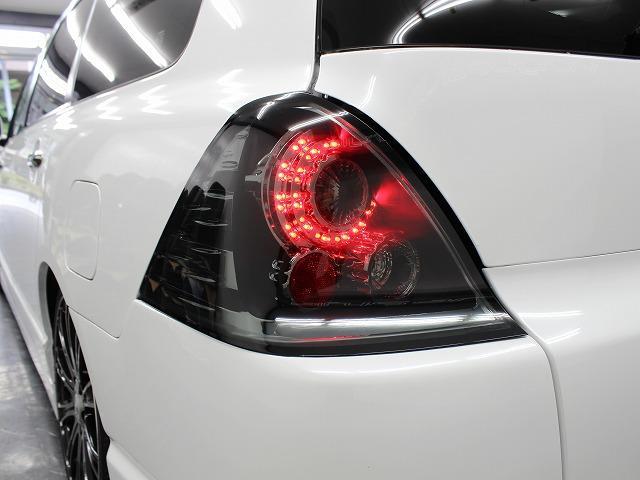 LEDテールは後方からの視認性もよくドレスアップの面でも欠かせないアイテムですね。もちろんノーマルテールのご用意も御座います。