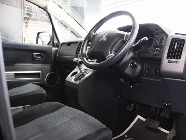 三菱 デリカD:5 M電動スライドドア地デジHDD新品AW4連イカリングライト