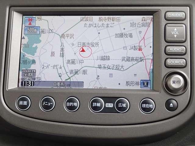 ホンダ フィット 13G 標準HDDナビ ETC ワンオーナー