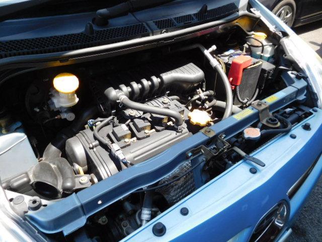 メンテナンス良好のエンジン!機関良好です!