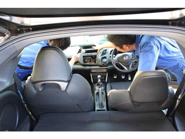 ホンダ N BOX+カスタム G 車椅子仕様車 スロープ付 純正Mナビ