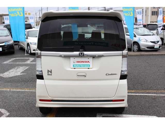 ホンダ N BOXカスタム G・Lパッケージ 社外HDDナビ Bカメラ ETC HID