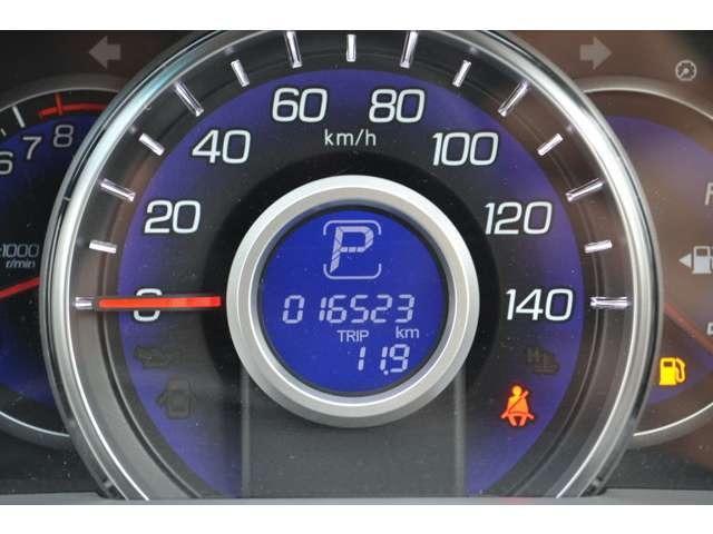 走行距離は16523kmでかなり少ないですよー!