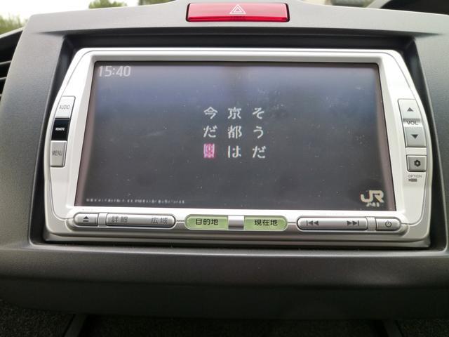 ホンダ純正SSDナビ・地デジ(ワンセグ)・DVD再生機能・走行中テレビDVD映ります。