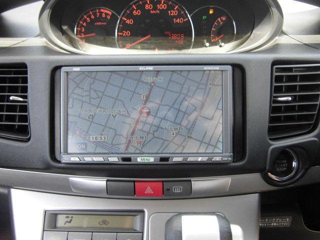 HDDナビを装着していますので、ナビゲーション機能、AV機能共にバッチリです。