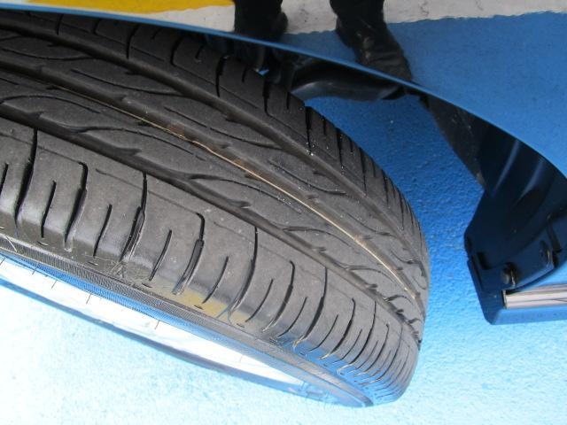 タイヤもまだまだ山があって、とっても安心です。しばらくは取替の必要は有りません!!