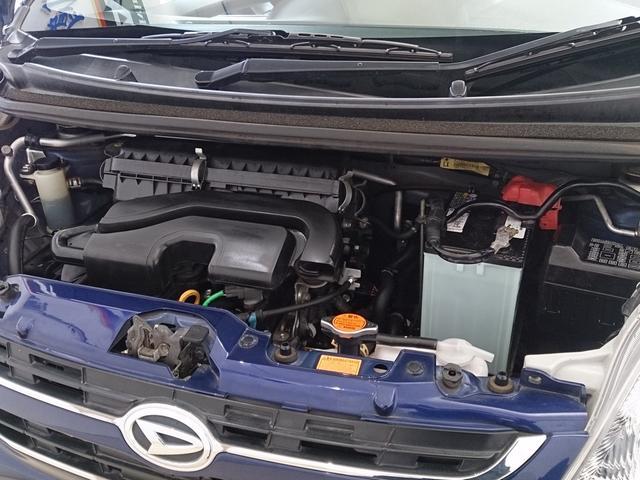 カタログスペック 58馬力 燃費 23.5K スペック以上に走りも良く 燃費も良いエンジンです、もちろん異音やオイル漏れも問題なし、レギュラーガソリン仕様もお財布にやさしいですね