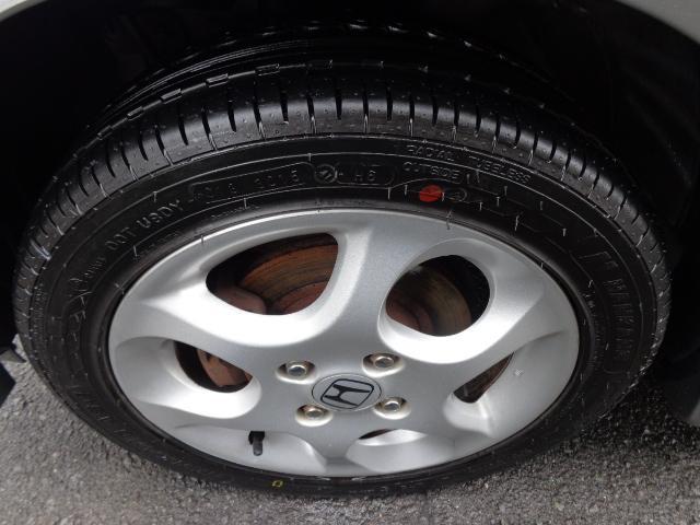 新品タイヤの装着はうれしいですね。長ーく安心してお乗り頂けます!