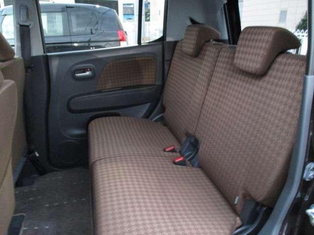 最近の軽自動車はシートが広いですよ