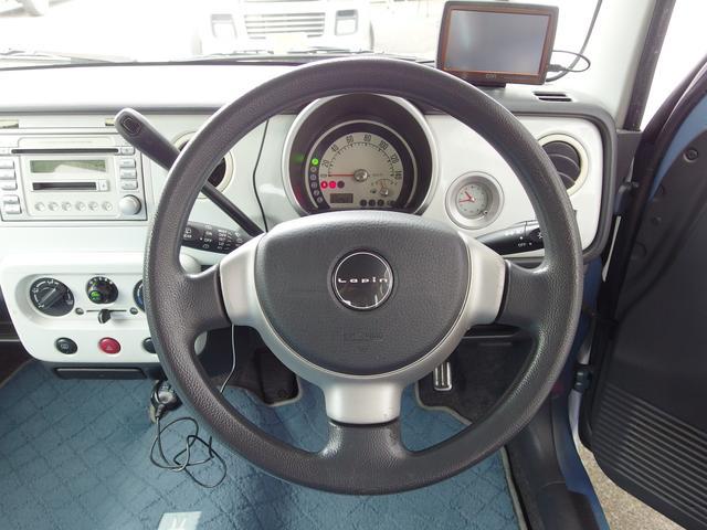 取り回しの良いハンドルで快適ドライブ
