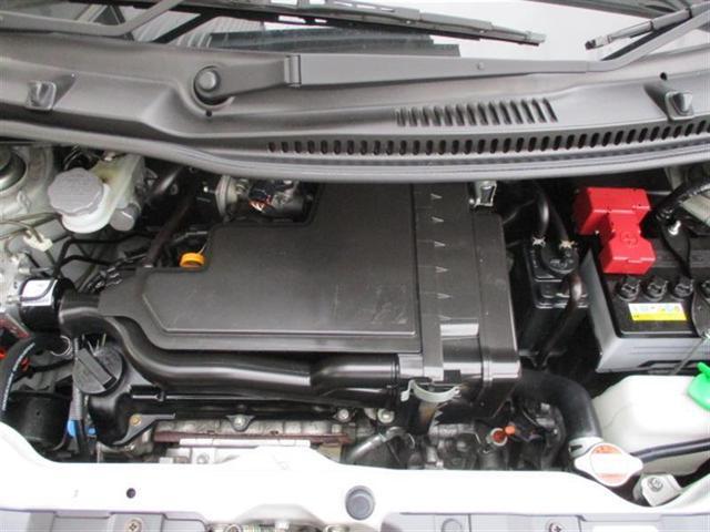 可変バルブタイミング付き。エンジンの運転状態を常に最適な状態にして、出力と燃費の向上を両立しています。