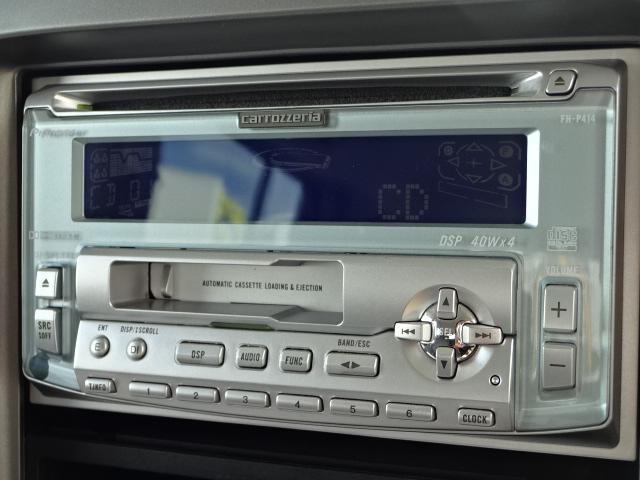 ★社外CD&CSデッキ付きなので好きな音楽を聴きながら楽しくドライブができます★