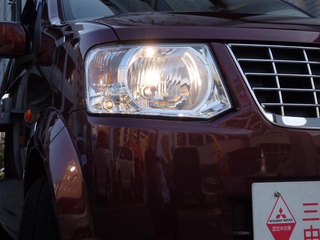 光軸調整機構付ハロゲンヘッドライト。暗い夜道を明るく照らします♪