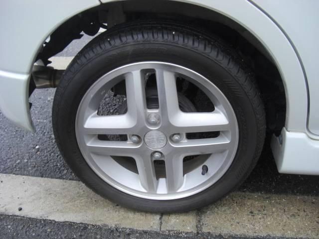 タイヤ溝もまだ大丈夫!