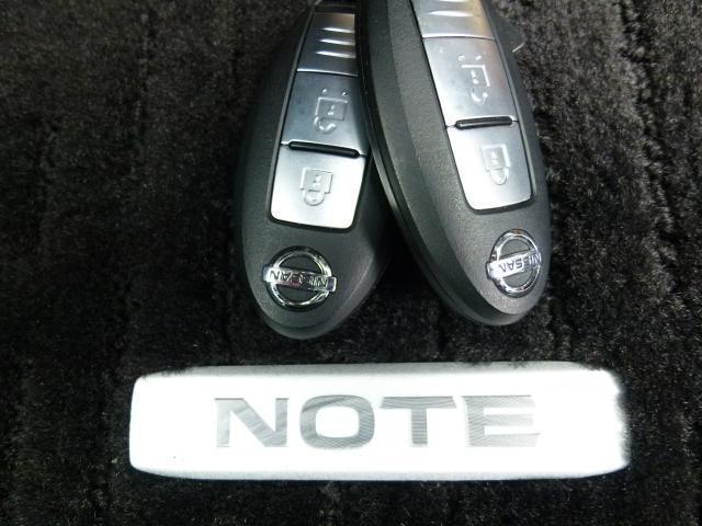 持っているだけで鍵の開閉もエンジンスタートもできるインテリキー!