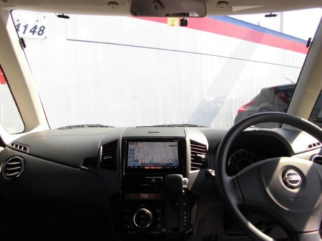 フロントガラスの大きさは軽自動車の中でもトップクラス。
