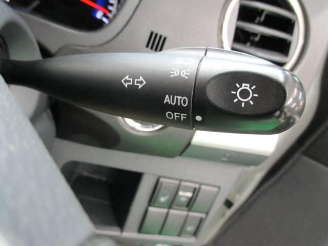 オートライト 外の明るさに応じて、自動的にライトを調節してくれます!ライトの消し忘れの心配もありません。