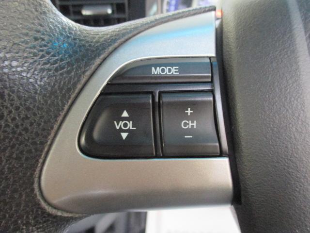 ステアリングスイッチ 走行中でも手元でオーディオの操作ができて便利です!