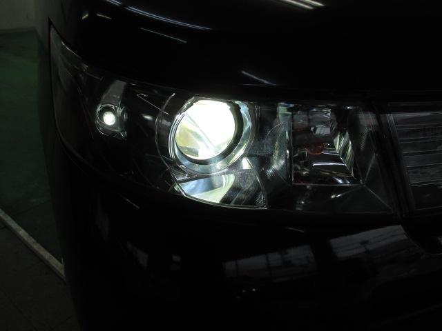 HIDディスチャージヘッドライト 球切れの心配も少なく、明るいので夜道も安心です!