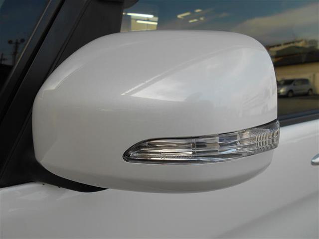 スタイリッシュなウィンカーミラーは周りからの視認性が高く安全性も高まります。