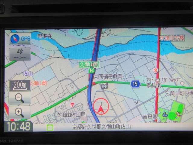 Honda 純正Gathers製メモリーナビVXM−128VSです。ワンセグTVも付いてます。