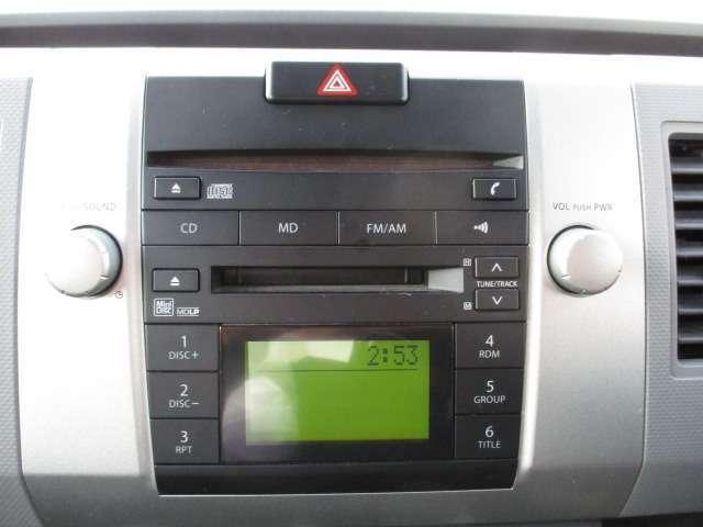 純正AM FM&CD 付きオーディオ装着されています。