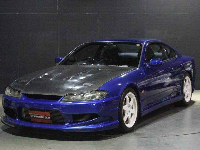 NISSAN SILVIA SPEC R | 1999 | BLUE | 76,000 Km | Details.  Japanese Used  Cars.Goo Net Exchange
