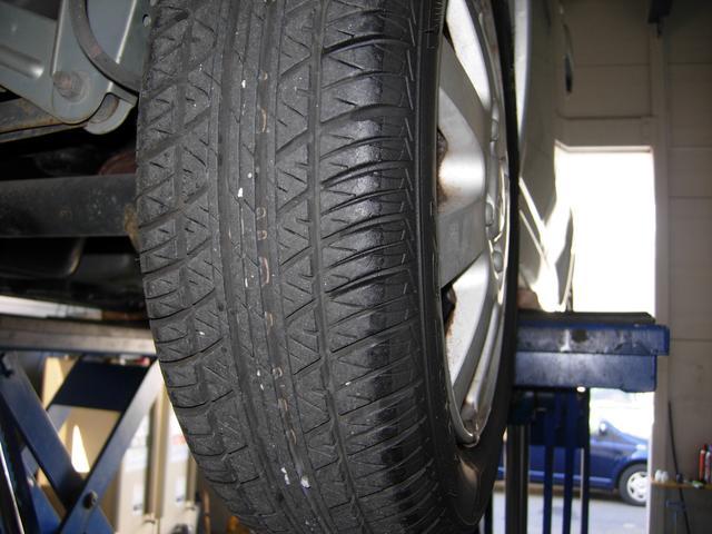 タイヤ残量もバッチリ!