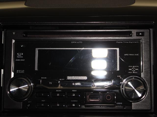 ケンウッド製CDデッキ付き!好きな音楽を聴きながら楽しくドライブ♪