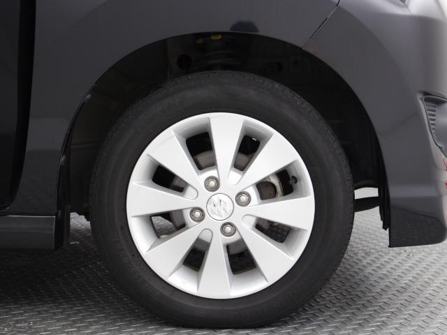 純正14インチアルミ付き!タイヤの溝は約5mmほど残っています♪