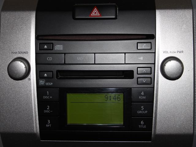 CD・MD・ラジオが聴けます♪