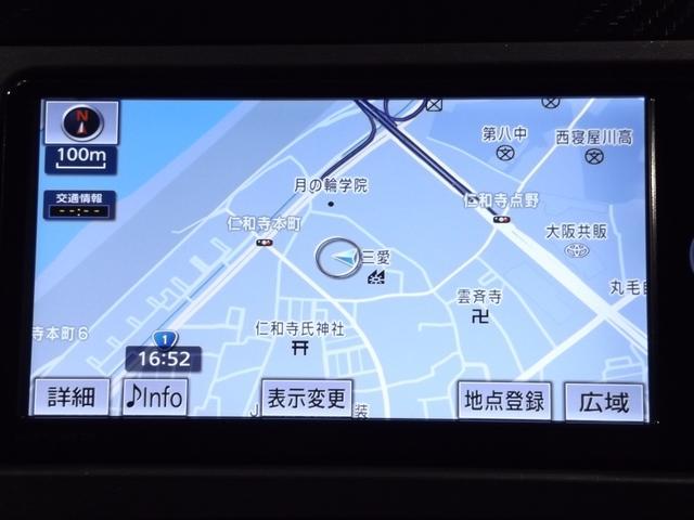 トヨタ純正メモリーナビ・フルセグ・CD・DVD再生・Bluetooth機能付きが装着されています(^^♪