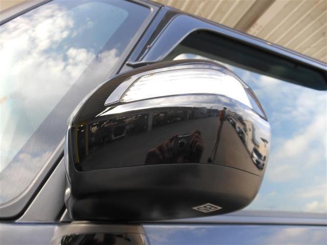 スタイリッシュなウィンカーミラーは周りからの視認性が安全性も高まります。