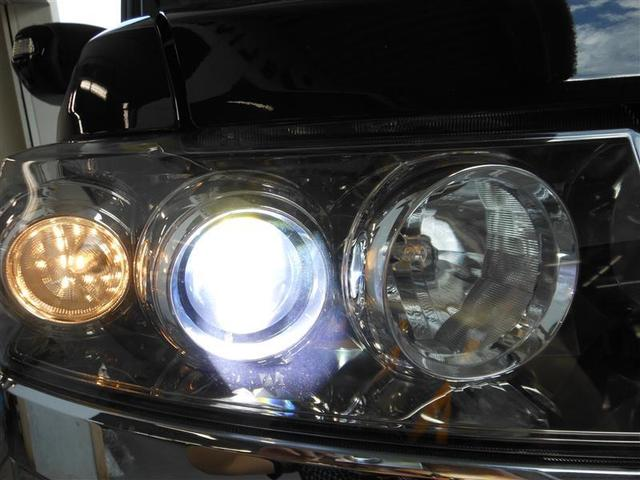 HIDヘッドライト装着車です。とても明るく夜間走行の視界を確保してくれます。