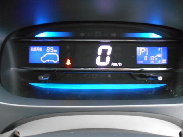 スピードメーターがデジタル表示で、とても見やすいですよ♪
