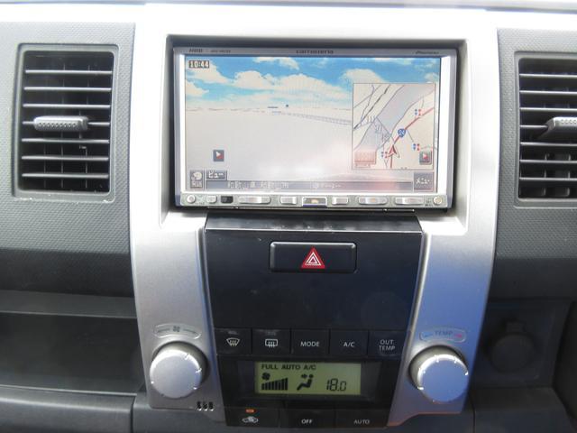 CD録音・DVD再生対応HDDナビです!もちろん最新ナビに変更可能ですよ♪自動で快適な温度にしてくれるフルオートエアコン付!