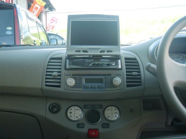 ☆社外DVDナビ付き♪オートエアコンも付いて、室内空間快適ドライブ出来ちゃいます♪ オートフレンズ無料電話 0066−9706−808002 ♪★格安販売&高額買取&格安車検&格安修理実施中♪