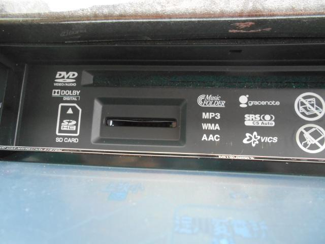 HDDナビなので、音楽録音機能やDVD再生なども出来る高機能モデルです。ドライブが楽しくなっちゃいますね。