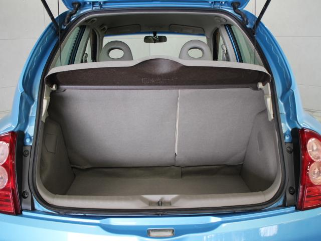6:4分割の後席シートを倒せば更に大きなラゲージスペースとしてご利用いただけます。