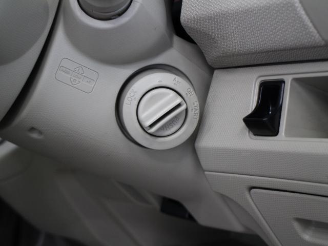 スマートキーを携帯していれば、ブレーキを踏みながらエンジンスイッチをまわすだけで、エンジンが始動します。