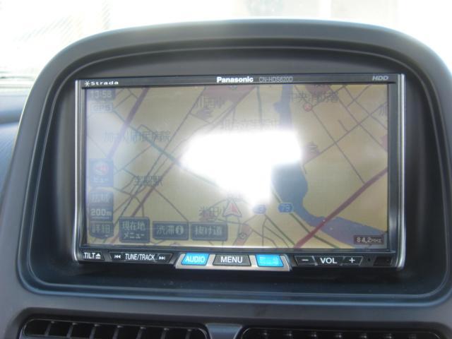 パナソニック ストラーダHDDナビ 走行中DVDビデオ見れます。音声分離型ETCも取り付け済みです。