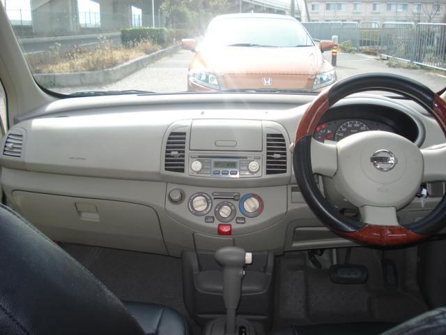 お洒落で運転しやすい車内!